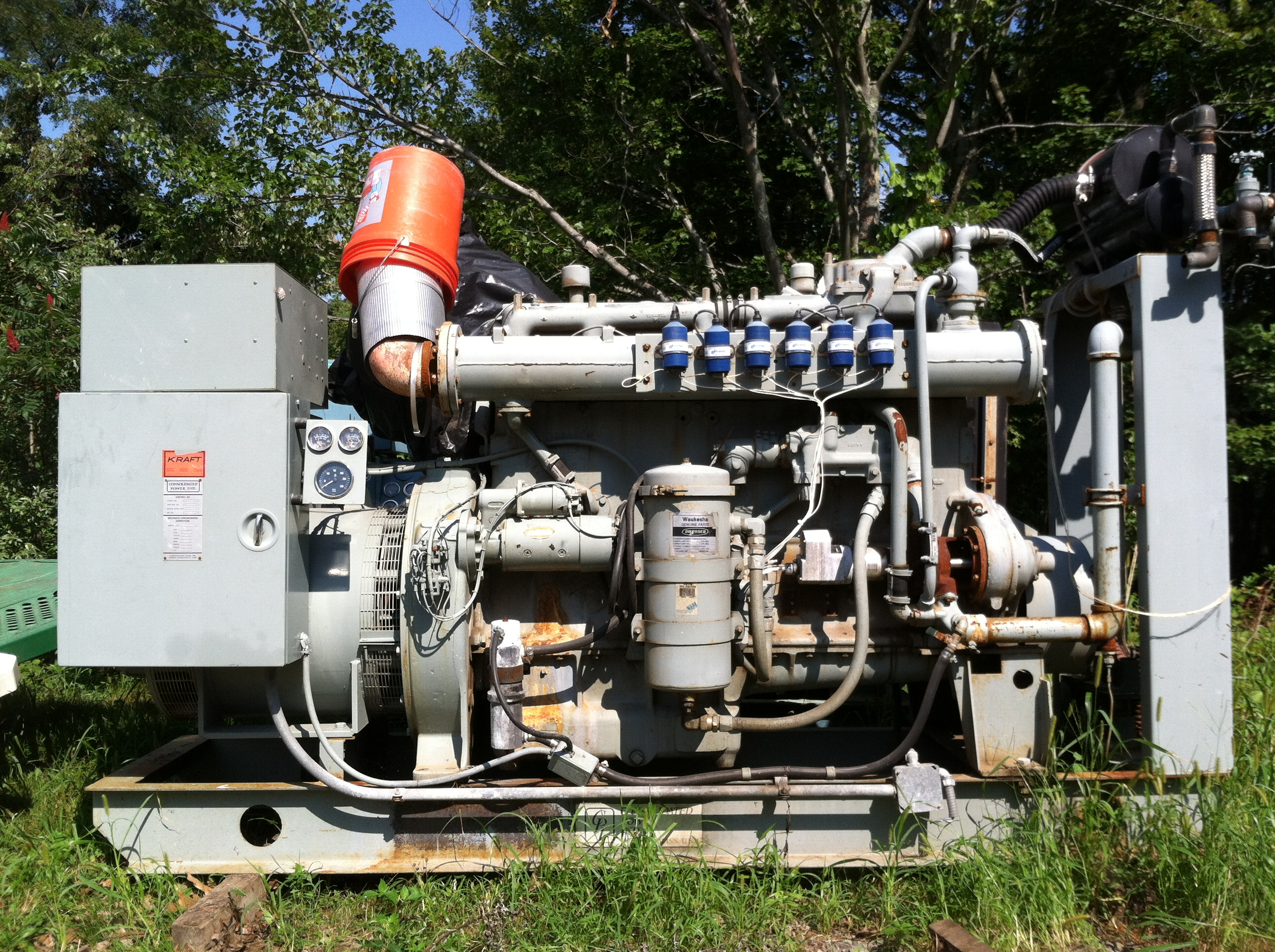 Used Generators: Amesbury, MA, Portsmouth, NH: Scherbon Consolidated